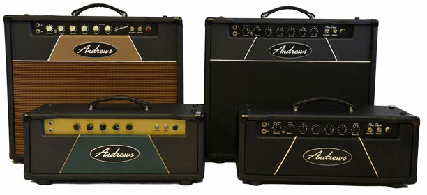 Photo of 4 Andrews Amps